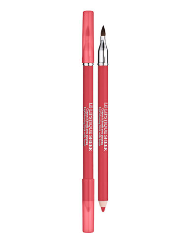 #Lancôme Le Lipstique,Two sensational tools in one: a creamy, waterproof pencil for lining, defining and all-over colour; a plush brush for professional blending of lipstick or gloss.