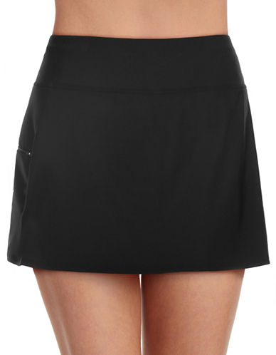 Penbrooke Solid Skort Bottom-BLACK-10