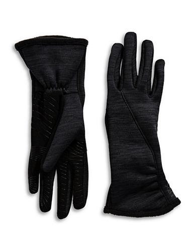 Ur Powered Active Stretch Touch Gloves-BLACK-S/M