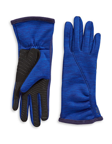 Ur Powered Active Stretch Touch Gloves-NAVY-S/M