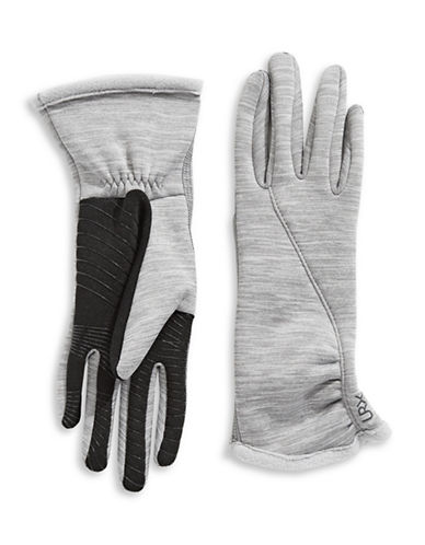 Ur Powered Active Stretch Touch Gloves-STONE-L/XL