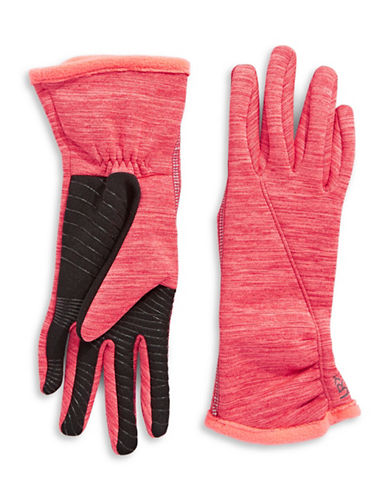 Ur Powered Active Stretch Touch Gloves-PINK-L/XL