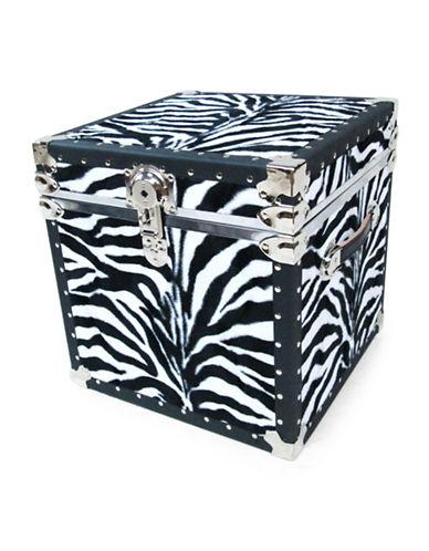 Everlite Faux Zebra Print Cube-ZEBRA-One Size