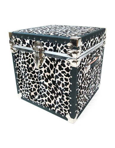 Everlite Faux Leopard Print Cube-LEOPARD-One Size