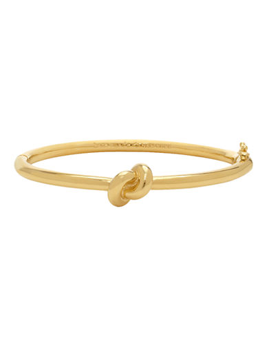 Kate Spade New York Sailors Knot Hinge Bangle-GOLD-One Size