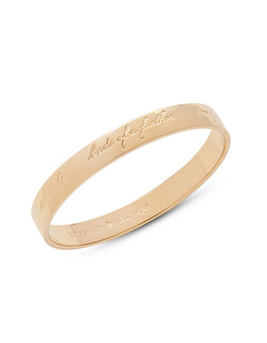 Kate Spade New York Idiom Bridesmaid Bangle-GOLD-One Size