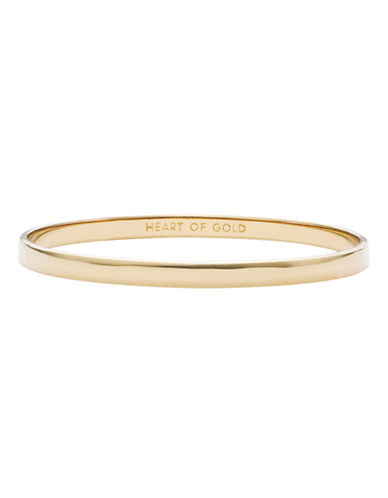Kate Spade New York Idiom Bangles Heart Of Gold - Solid-GOLD-One Size