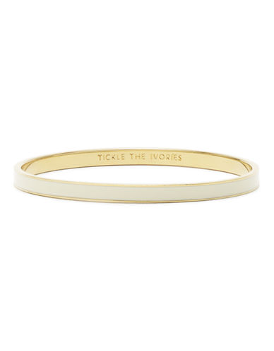 Kate Spade New York Idiom Bangles tickle the ivories - solid-CREAM-One Size