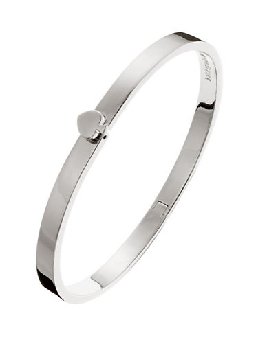 Kate Spade New York Thin Hinge Bangle-SILVER-One Size