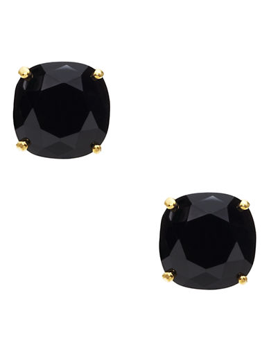 Kate Spade New York KATE SPADE NEW YORK Small Square Stud Earrings-JET-One Size