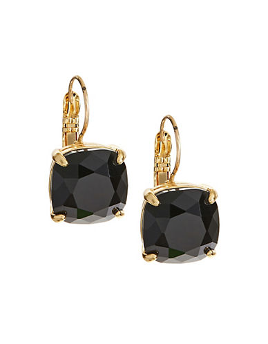 Kate Spade New York Kate Spade Earrings Small Square Leverbacks-JET-One Size
