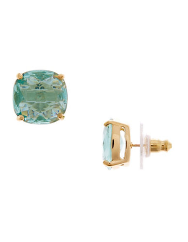 Kate Spade New York KATE SPADE NEW YORK Small Square Stud Earrings-BLUE-One Size