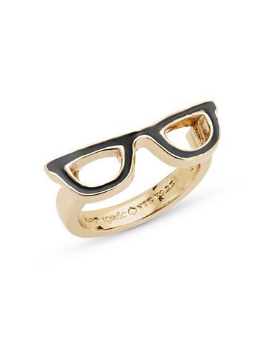Kate Spade New York Goreski Glasses Ring-BLACK-5