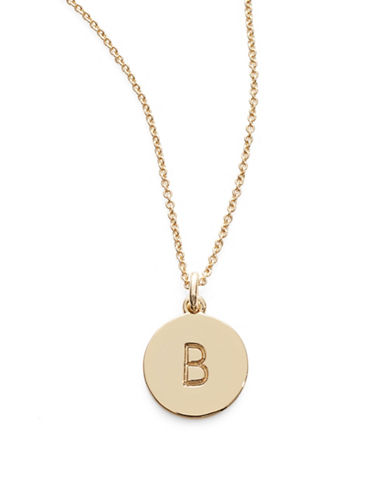 Kate Spade New York One in A Million Pendant Letter Necklace-B-One Size