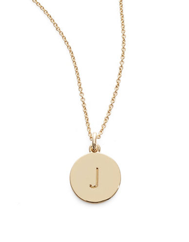 Kate Spade New York One in A Million Pendant Letter Necklace-J-One Size