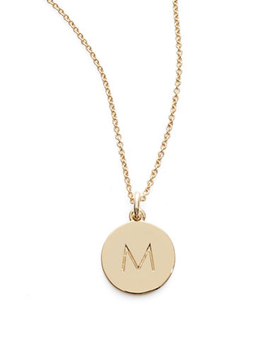 Kate Spade New York One in A Million Pendant Letter Necklace-M-One Size