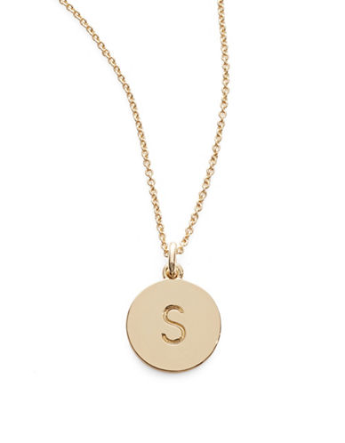 Kate Spade New York One in A Million Pendant Letter Necklace-S-One Size