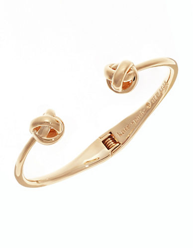 Kate Spade New York Knot Cuff Bracelet-GOLD-One Size