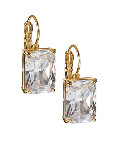 Kate Spade New York Square Drop Earrings-CLEAR-One Size