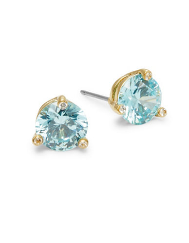 Kate Spade New York Rise and Shine Stud Earrings-AQUA-One Size