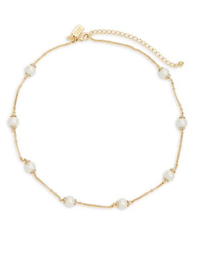 Kate Spade New York Pearls Of Wisdom Scatter Necklace-CREAM-One Size