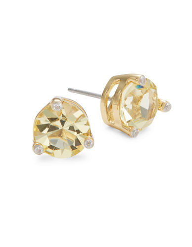 Kate Spade New York Rise and Shine Faceted Stud Earrings-GOLD-One Size