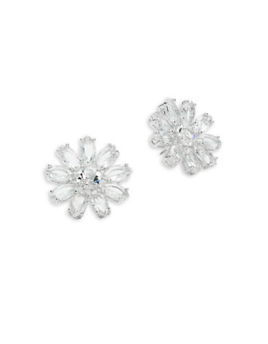 Kate Spade New York Crystal Gardens Large Stud Earrings-SILVER-One Size