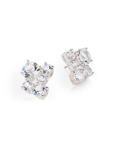 Kate Spade New York Neapolitan Cluster Stud Earrings-SILVER-One Size