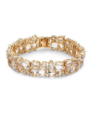 Kate Spade New York Make Me Blush Narrow Flex Bracelet-GOLD-One Size