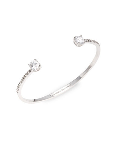 Kate Spade New York Clink of Ice Cuff Bracelet-SILVER-One Size