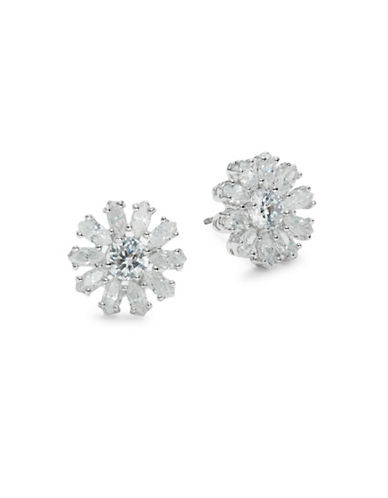 Kate Spade New York Crystal Gardens Stud Earrings-SILVER-One Size