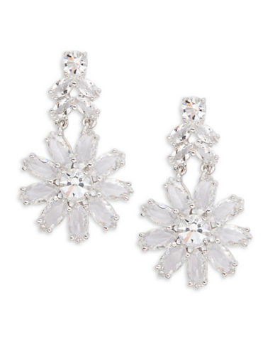 Kate Spade New York Crystal Gardens Drop Earrings-SILVER-One Size