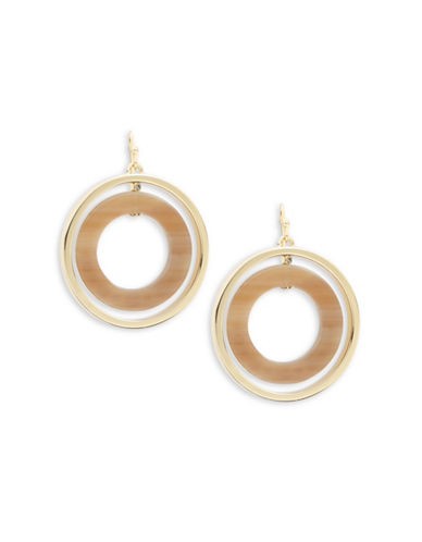 Kate Spade New York Out of Her Shell Drop Earrings-BEIGE-One Size