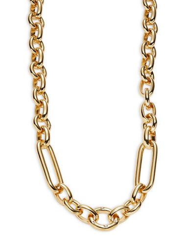 Kate Spade New York Goldie Links Long Chainlink Necklace-BEIGE-One Size