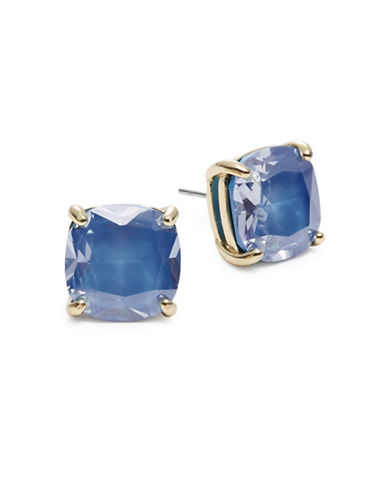 Kate Spade New York Small Square Stud Earrings-ROYAL BLUE-One Size