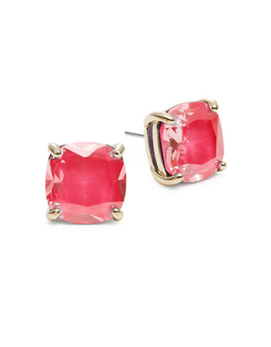 Kate Spade New York Small Square Stud Earrings-PINK-One Size