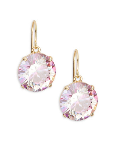 Kate Spade New York Shine On Drop Earrings-PINK-One Size