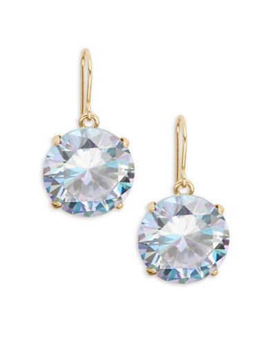 Kate Spade New York Shine On Drop Earrings-CLEAR-One Size
