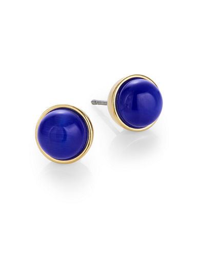Kate Spade New York Forever Gems Small Stud Earrings-ROYAL BLUE-One Size