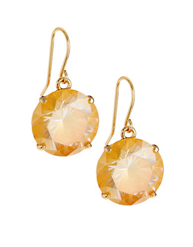 Kate Spade New York Shine On French Wire Drop Earrings-YELLOW-One Size