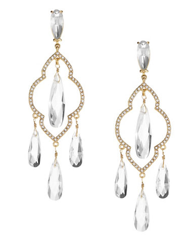 Kate Spade New York Lantern Gems Chandelier Earrings-CLEAR-One Size