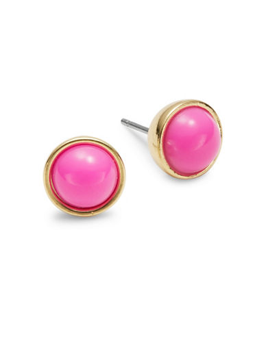 Kate Spade New York ?Forever Gems Cabochon Stud Earrings-PINK-One Size