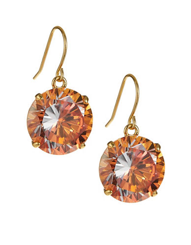 Kate Spade New York Shine On French Wire Drop Earrings-CORAL-One Size