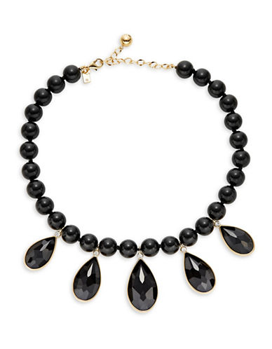 Kate Spade New York True Colours Beaded Necklace-BLACK-One Size