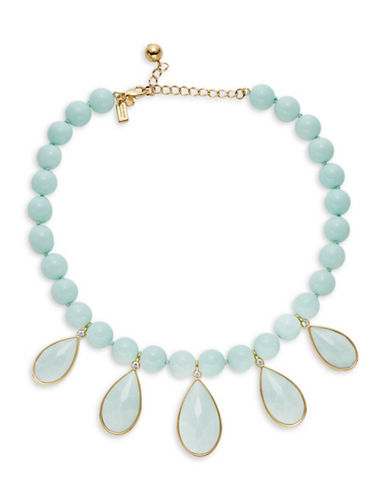 Kate Spade New York Stone Beaded Necklace-BLUE-One Size