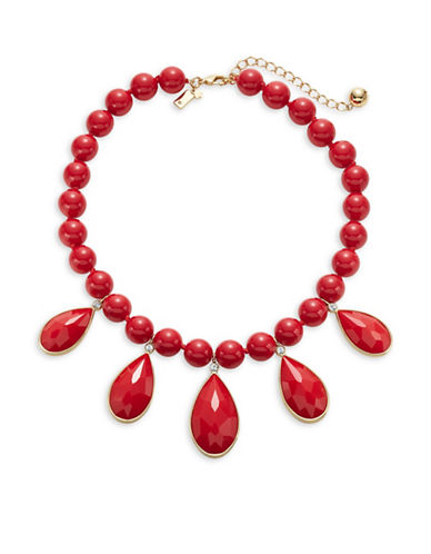 Kate Spade New York True Colours Beaded Necklace-RED-One Size