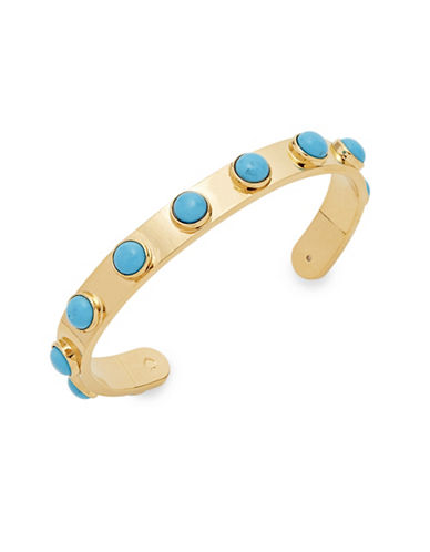 Kate Spade New York Tag Along Cuff Bracelet-TURQUOISE-One Size