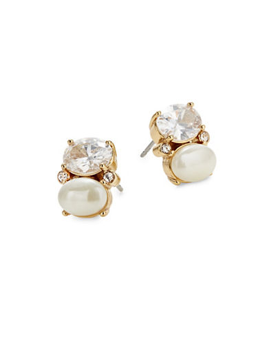 Kate Spade New York Shine On Stud Earrings-CREAM-One Size