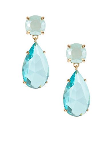 Kate Spade New York Here Comes the Sun Drop Earrings-BLUE-One Size