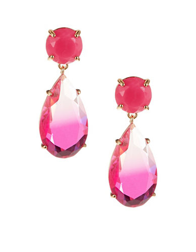 Kate Spade New York Here Comes the Sun Drop Earrings-PINK-One Size